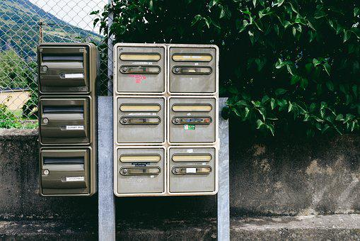 Mailboxes, Post, France, Letter, Mailbox, Postal