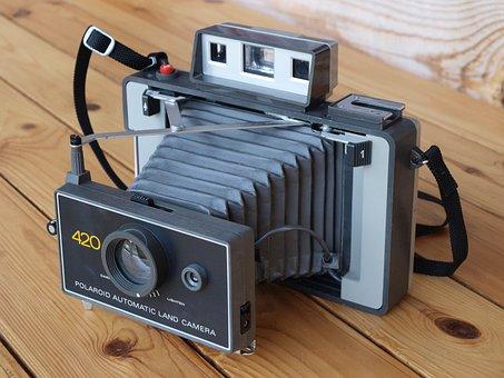 Polaroid, Retro, Camera, Rarity, Vintage, Old