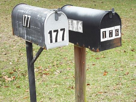 Rural, Postal, Mailbox, Letter, Delivery, Mail