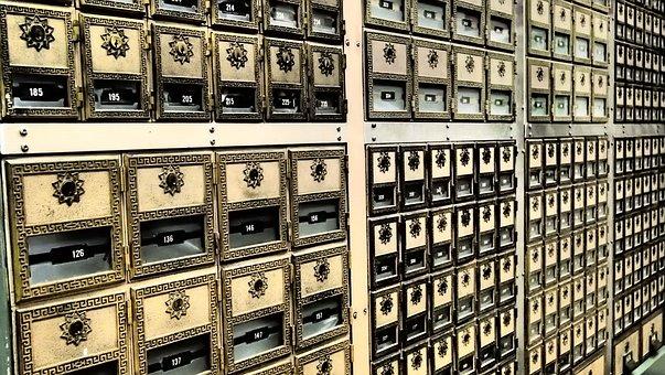 Safe Deposit Box, Post, Office