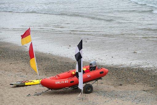 Lifeguard, Boat, Sea, Water, Rescue, Life, Beach