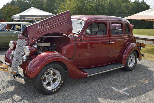 Classic, Car, Show, Automobile, Restored, Vintage, Old