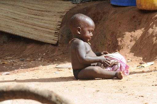 Boy, African, Child, Small, Boy Toy, Poverty, Misery