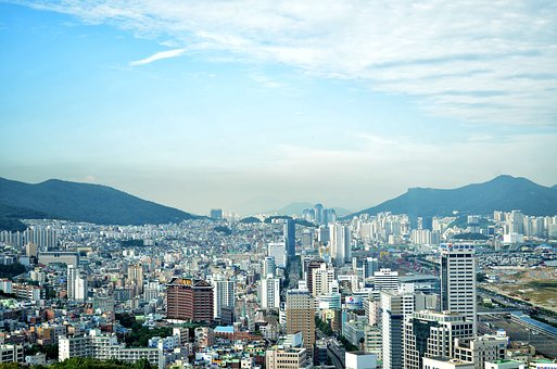South Korea, Korea, South, Asia, City, Pusan, Landscape