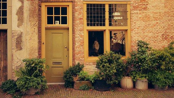 Street, Leiden, Netherlands, Dutch, Building, House