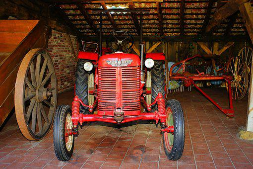Tractors, Farm, Old, Antique, Oldtimer, Ready To Start