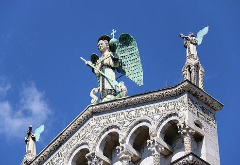 Lucca, Italy, Tuscany, Italian, Historic, Medieval