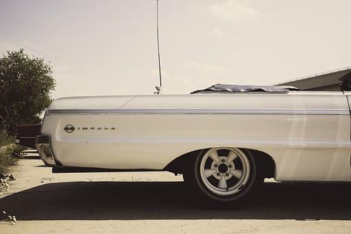 Oldtimer, Vintage, Auto, Us Car, Muscle Car, Classic