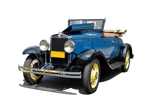 Vintage, Convertible, Automobile, Vehicle, Nostalgia
