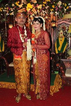 Wedding, Traditional Javanese, Tradition, Batik
