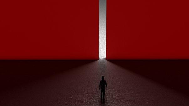 Digital Art, 3d Modeling, Wallpaper, Red, Aesthetic, 3d