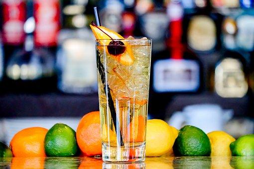 Drink, Fruit, Glass, Bar, Cocktail, Alcohol, Juice