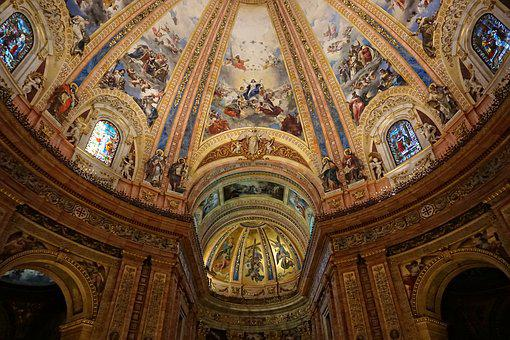 Church, Cathedral, Religion, Travel, Architecture, Dome