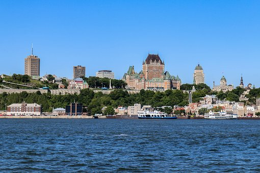 Quebec, Canada, City, Architecture, Waters, Travel