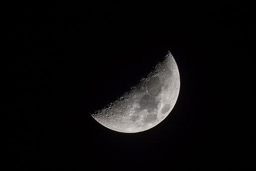 Moon, Astronomy, Nature, Satellite