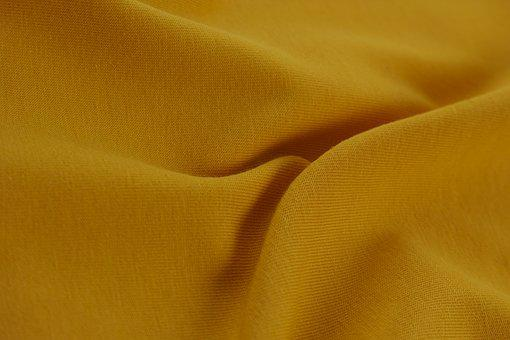 Yellow, Fabric, Texture, Background, Backgrounds