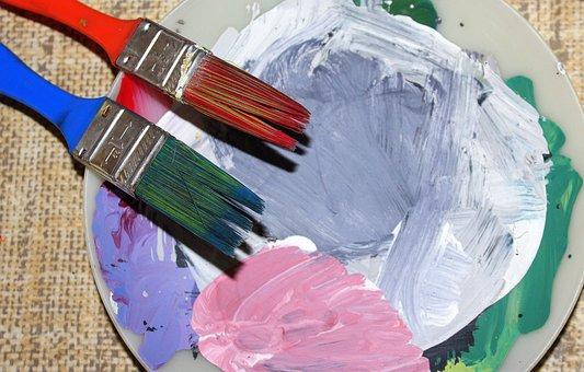 Brush, Brushes, Paint, Painting, Painter, Creativity