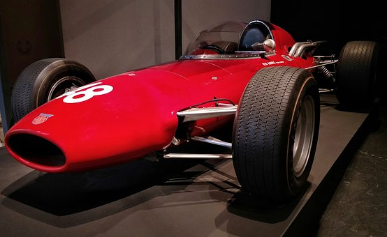 Racing, Car, Red, Ron Harris, Famous, 1960s, Driver