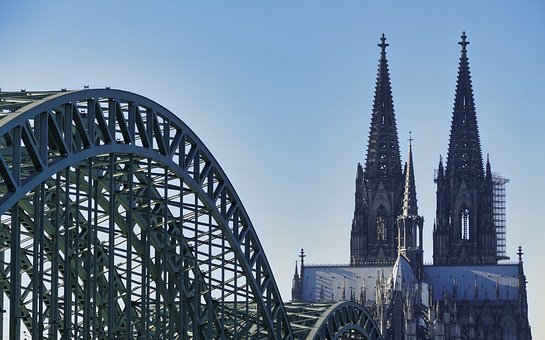 Architecture, Sky, Travel, Bridge, Dom, Cathedral