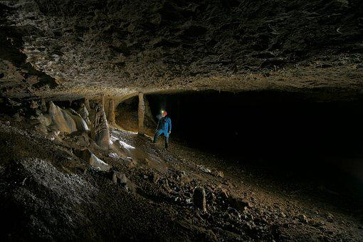 Cave, Tunnel, Concretions