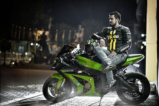Motorcycle, Vehicle, Rush, Avenue, Mini Moto, City