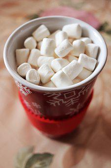 Food, Cocoa, Marshmallows, Tasty