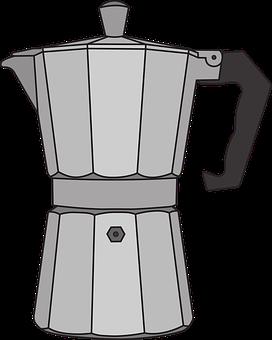 Pot, Espresso, Coffee, Cup, Coffee Beans, Coffee Recipe