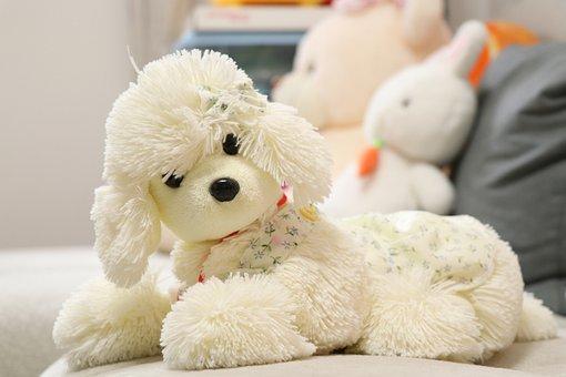 Plush Toys, Toys, Cute, Dog, Winter, Sofa, Household