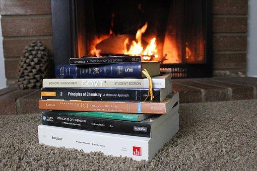 Heat, Indoors, Flame, Study, Homework, Research, Bible