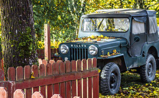 The Vehicle, Car, Suv, Old Car, Classic, Jeep