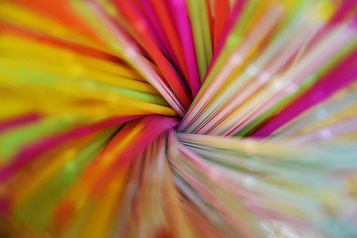 Bright, Motley, Abstract, Artistic, Art, Color