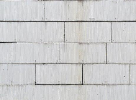 Facade, Shingle, Slabs, Nailed, Panel, Diamond, Pattern