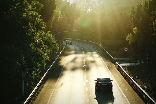 Transport, Road, Travel, Light, Nature, Automobile
