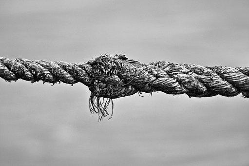 Rope, Knot, Twisted, Tied, Nautical, Line, Ship's Line