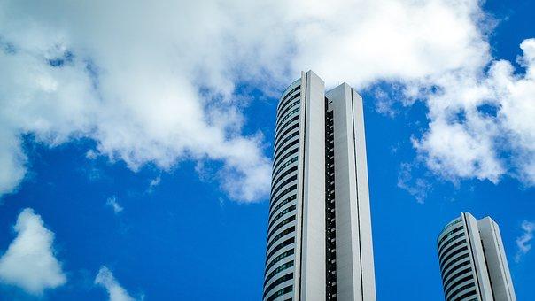 Sky, High, Architecture, No Person, Skyscraper