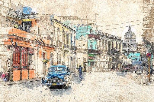 Cuba, Oldtimer, Havana, Old Car, Classic, Old, Auto