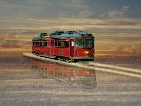 Transportation System, Outdoors, Travel, Tramcar