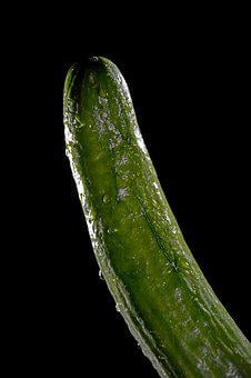 Cucumber, Vegetables, Sexy, Penis, Act, Act Of Part Of