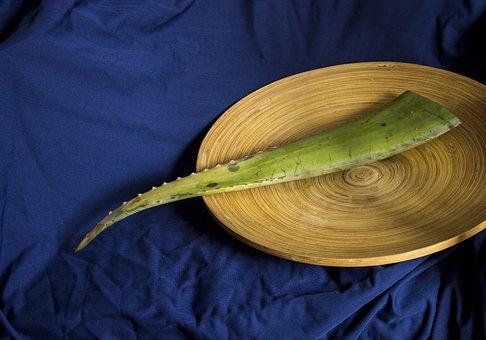 Food, Healthy, Desktop, Wooden, Wood, Aloe, Vera, Plant
