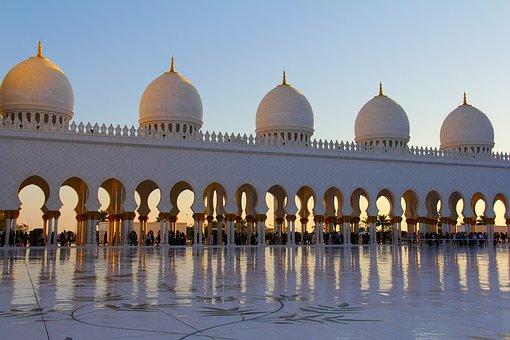 Pray, Muslim, Sheikh Zayed Grand Mosque, Mosque