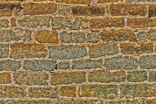 Sand Stone, Stone Wall, Historically, Old, Steinmetz