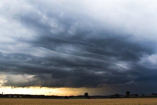 Storm, Thunderstorm, Nature, Sky, Cloud