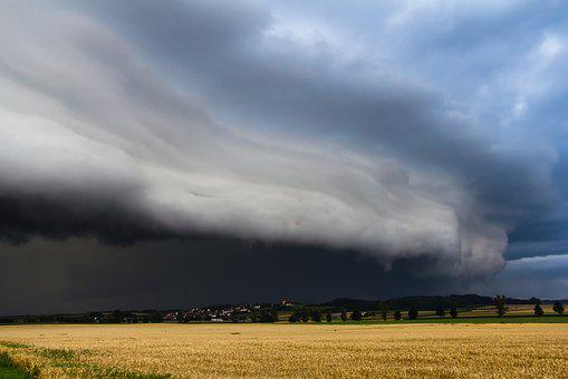 Sky, Landscape, Agriculture, Shelf Cloud, Squall Line