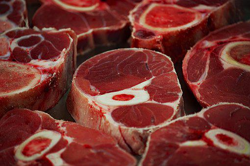 Meat, Beef, Market, Steak, Food, Background, Healthy