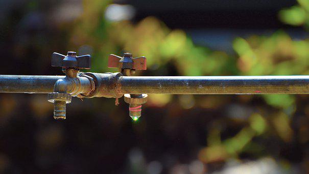 Outdoors, Tap, Faucet, Water, Drink, Clean, Liquid