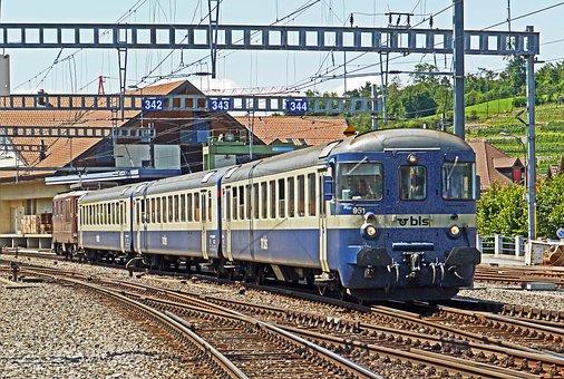 Regional Train, Transport, Schubzug, Tax Car