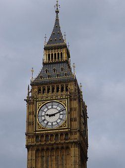 Clock, Architecture, Tower, Travel, Building, Famous
