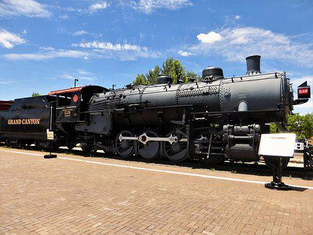 Transport, Train, Locomotive, Steam, Coal, Track, Rail