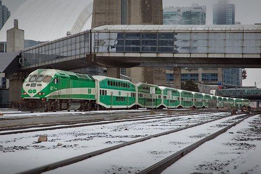Train, Railway, Transportation System, Locomotive