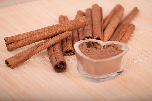 Cinnamon, Wooden, Wood, Spice, Aromatic, Food